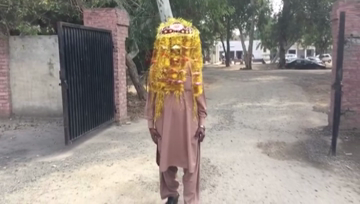 Bhalwal- 70 year-old groom, robbed by young runaway bride on wedding night, roams the streets in his 'sehra'