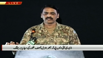 Pakistan army says India should wait for response after