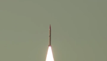 Rawalpindi- Pakistan test fires surface-to-surface ballistic missile.