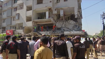 Suspected gas explosion kills at least 3, injures 19 in Pakistan's Karachi